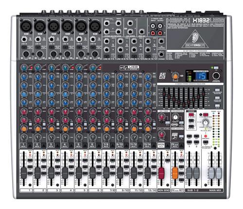 Behringer Xenyx X1832USB 18-Input Mixer with FX & USB