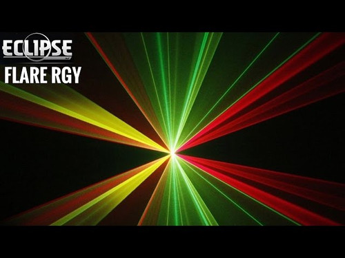 Eclipse Flare RGY Pattern Laser