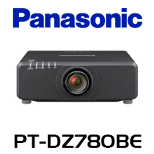 Panasonic PT-DZ780BE WUXGA 7000 Lumen Dual Lamp 1-Chip DLP