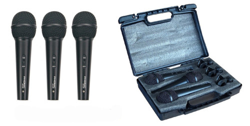 Phonic DM 680 3-Pack Microphone
