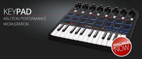 Reloop KeyFadr MIDI Keyboard 25 Key with Ableton Live Lite 9