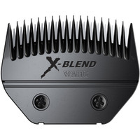 Ultimate X-Blend Blade by Wahl has a silky, shiny finish, and distinctive black chrome finish that has been added for superior rust protection. Has rounded, bevelled tips for smoother feeding and faster cutting of hair.  Patented design prevents hair and residue from building up. Fits Wahl and Andis AGC/ Excel clippers.