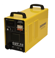 The Thermamax Cut 70-i HF Plasma Cutter is capable of cutting up to 16mm steels and 8mm stainless.
