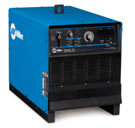 Miller's Dimension 562, CC/CV DC transformer power sources provide outstanding versatility plus the endurance to handle demanding industrial applications. Engineered to provide exceptional performance across a variety of arc welding processes.