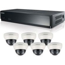 Samsung 8 Channel PoE NVR Kit - Network Video Recorder, Camera SRK-4060S