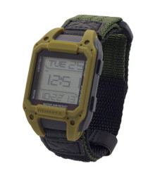 Humvee Recon Digital Watch -  Back Glow - Olive Drab