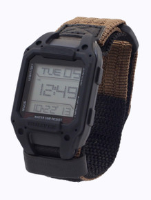 Humvee Recon Digital Watch - Back Glow - Black Dial