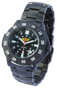 UZI Protector Swiss Tritium Watch - Black - Metal - UZI-001-M