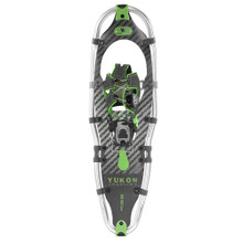 "Yukon Charlie's Elite Spin Snowshoe - 9"" x 30"" - Carbon/Green"