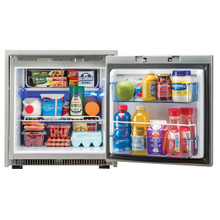 Norcold NR751SS 2.7 Cubic Feet AC/DC Marine Refrigerator - Stainless Steel (F/boats, vans, trucks, RV's, specialty vehicles)