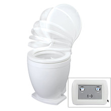 Jabsco Lite Flush Electric 24V Toilet w/Control Panel 58500-1024