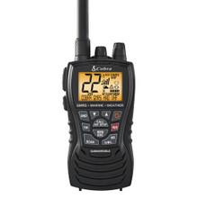 Cobra MR HH450 Dual VHF/GMRS Floating Handheld Radio - Grey