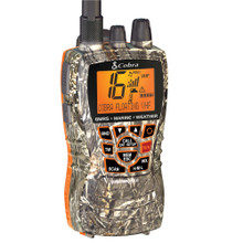 Cobra MF HH450 Dual VHF/GMRS Floating Handheld Radio - Camo