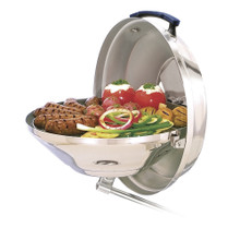 "Magma Marine Kettle Charcoal Grill w/Hinged Lid 15"" A10-104"