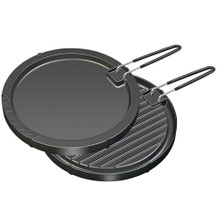"Magma Two-Sided Non-Stick Griddle 11-1/2"" Round A10-196"