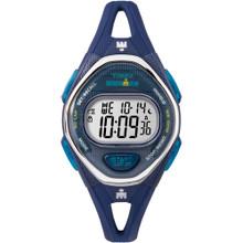 Timex IRONMAN Sleek 50 Mid-Size Silicone Watch - Navy