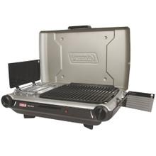 Coleman PerfectFlow Portable Camp Propane Grill/Stove+  22,000 BTU