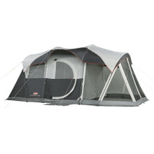 Coleman Elite WeatherMaster 6 Personn Screened Tent - 17' x 9' - 6 Persons/3 Rooms