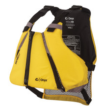 Onyx MoveVent Curve Paddle Sports Life Vest - XS/S Yellow/Black