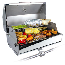 "Kuuma 216 Elite Gas Grill 58155 - 216"" Cooking Surface - Stainless Steel"