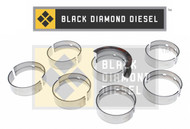 Black Diamond 07.5-15 Dodge 6.7 Cummins .50MM Undersize Main Bearing Set