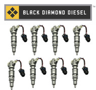 03-10 Ford 6.0 Powerstroke Standard Remanufactured Injectors Set (8) ($1440 Core)