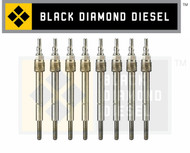 Black Diamond 03-10 Ford 6.0 Powerstroke Premium Dual Coil Glow Plug Set (8)