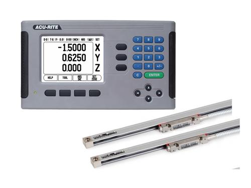 "Acu-Rite - 200S, 2 Axes, 12"" x  30"" Travel, Mill DRO Kit"