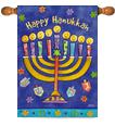 Hanukkah Decorative Flags