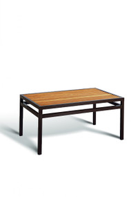 Gar Bayhead Synthetic Teak Rectangular Outdoor Coffee Table