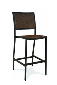 Gar Bayhead Woven Outdoor Bar Stool