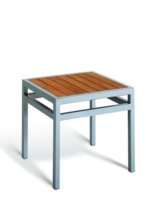 Gar Bayhead Synthetic Teak Square Outdoor End Table Sunhouse Office - Teak outdoor end table