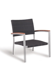 Gar Bayhead Woven Outdoor Lounge Chair