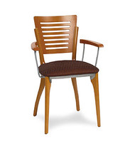 Gar Series 1650 Arm Chair with Padded Seat