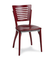 Gar Series 1650 Side Chair with Saddle Seat