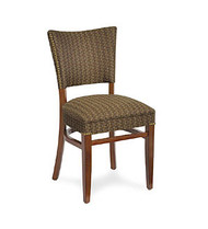 Gar 205 Series Side Chair with Wrap Side Over Upholstered Back