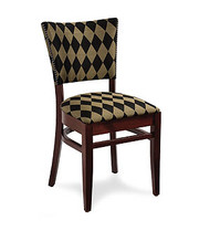 Gar Series 205 Side Chair with Padded Seat and Over Upholstered Back