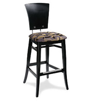 Gar Series 258 Barstool with Padded Seat