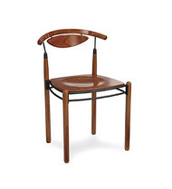 Gar Series 268 Side Chair with Veneer Seat