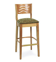 Gar Series 9634 Barstool with Padded Seat