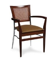 Gar Series 269 Padded Seat and Can Back Stack Chair