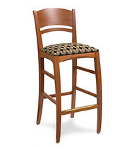Gar 177 Series Barstool with Padded Seat