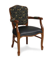 Gar Series 1377 Arm Char with Padded Seat and Padded Back