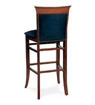 Gar Series 1940 Padded Seat and Padded Nailed Back Barstool