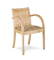 Gar Series 350 Arm Chair with Padded Seat