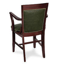 Gar Series 379 Arm Chair with Pull Over Seat and Padded Nailed Back