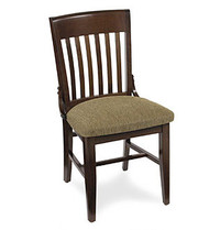 Gar Series 379 Side Chair with Pull Over Seat