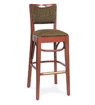 Gar Series 423 Padded Seat and Padded Back Barstool