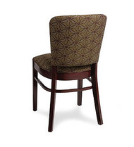 Gar Series 423 Side Chair with Padded Seat and Over Upholstered Back