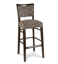 Gar Series 424 Padded Seat and Padded Nailed Back Wrap Side Barstool